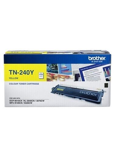 Brother Tn-240Y Sarı 1400 Sayfa Toner Renkli